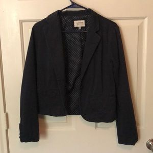 Hollister Jackets & Coats - Navy Blazer